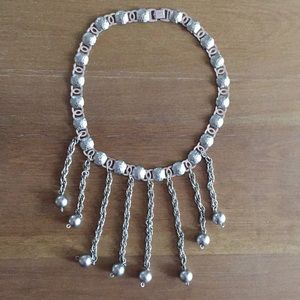 """Necklace 15.5"""" - metal (unknown type)"""